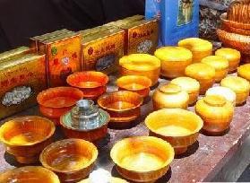 香格里拉木碗文化