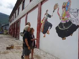 维西县塔城镇培育乡村旅游市场