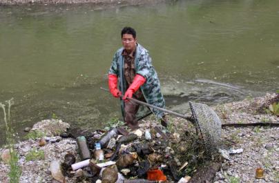 纳帕海清淤清污在行动