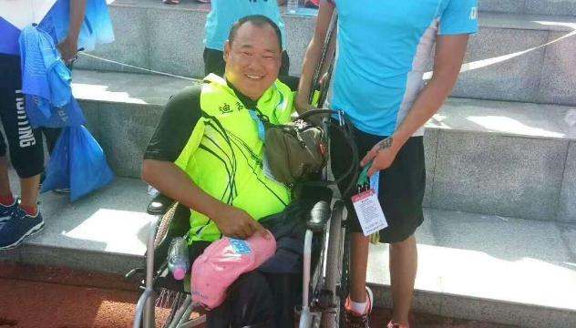 和学新在省第十一届残疾人运动会上摘得一银一铜