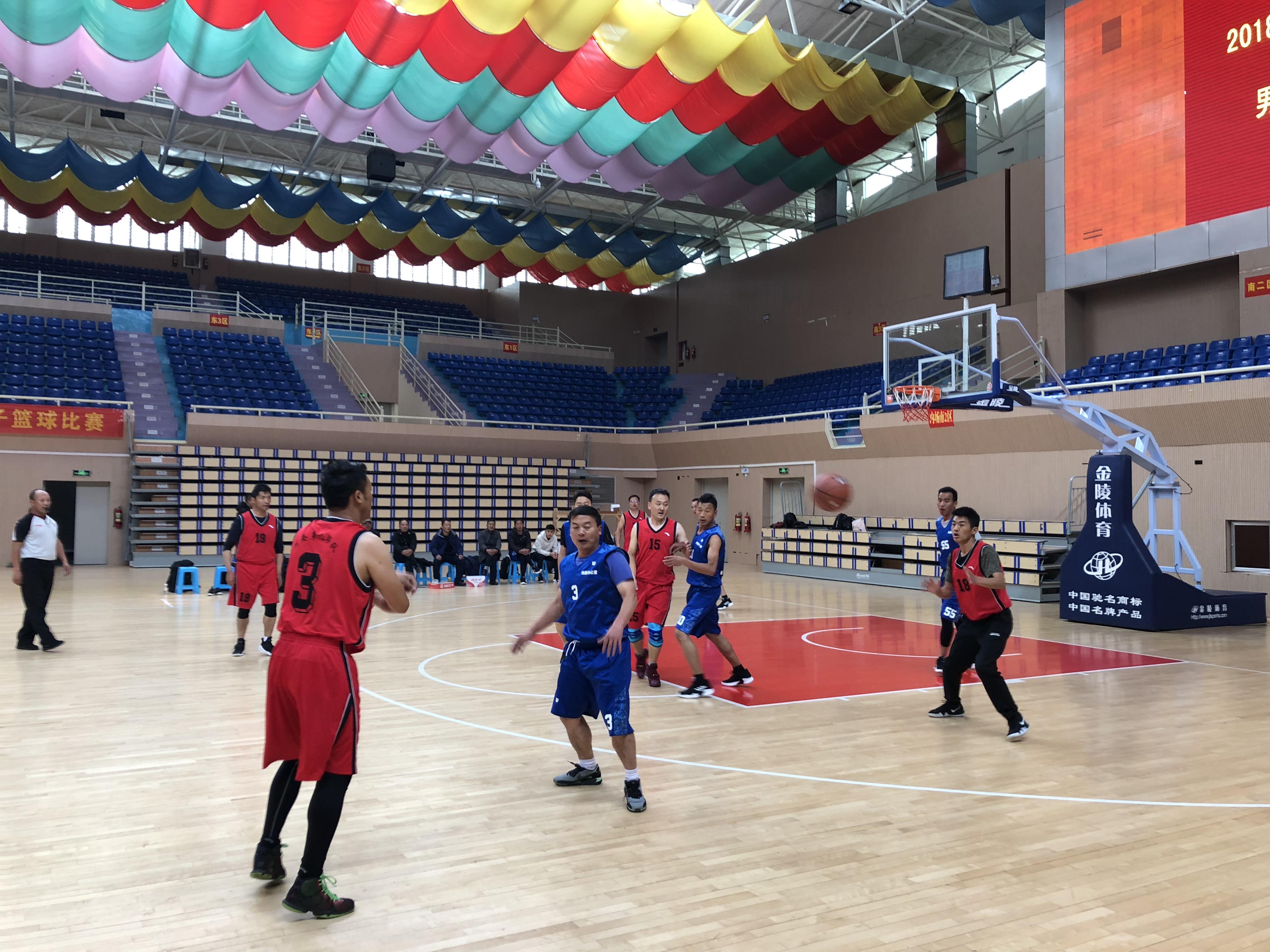 州级机关党群系统2018年职工篮球赛正式开赛