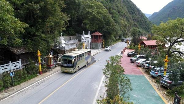 迪庆公路局建设完成尼西和塔城两个公路驿站