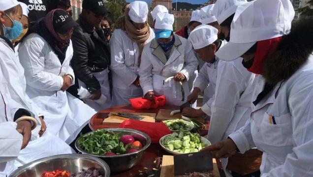 厨艺技能培训举行开班仪式