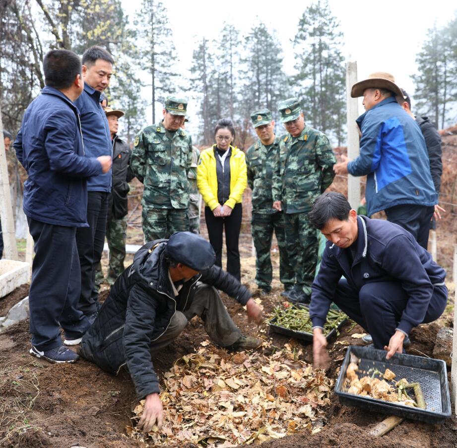 武警上海总队、云南总队在维西开展帮扶调研