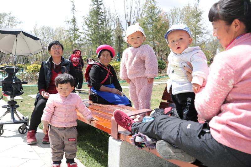 香巴拉公园:溜娃、散步、休闲的好去处