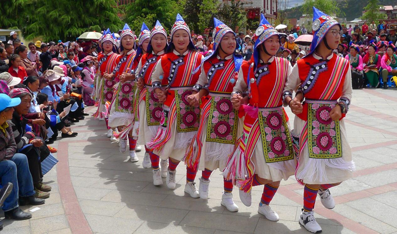 傈僳族舞蹈《阿尺目刮》