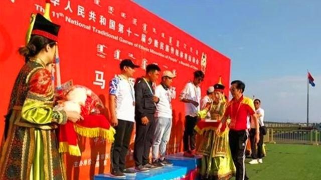 拉茸迪列斩获全国民族运动会云南代表团首金