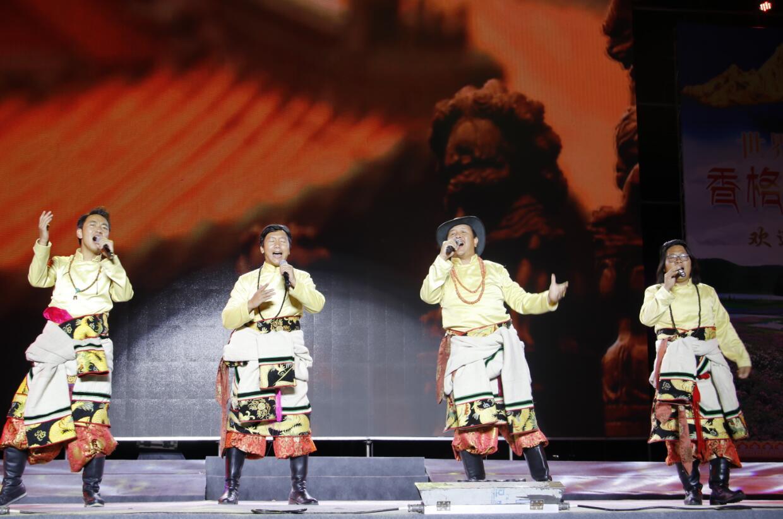 迪庆民族歌手欢歌庆国庆 共同唱响祖国好