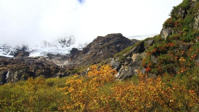 秋游雨崩——世界就在脚下