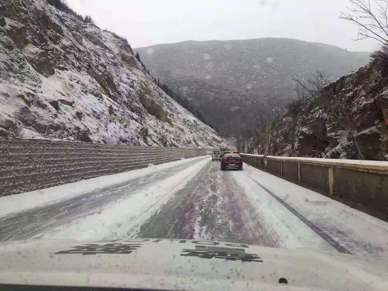 雪后路滑出行要小心!迪庆的亲们,最新路况来了