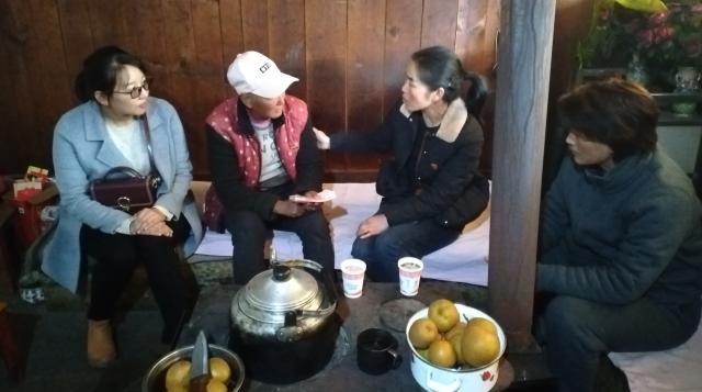 """维西县妇联看望慰问2019年项目内患""""两癌""""贫困妇女"""