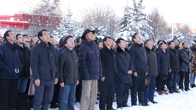 州委机关举行2020年首次升旗仪式
