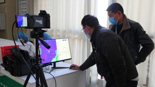 红外线测温仪加入疫情防控战