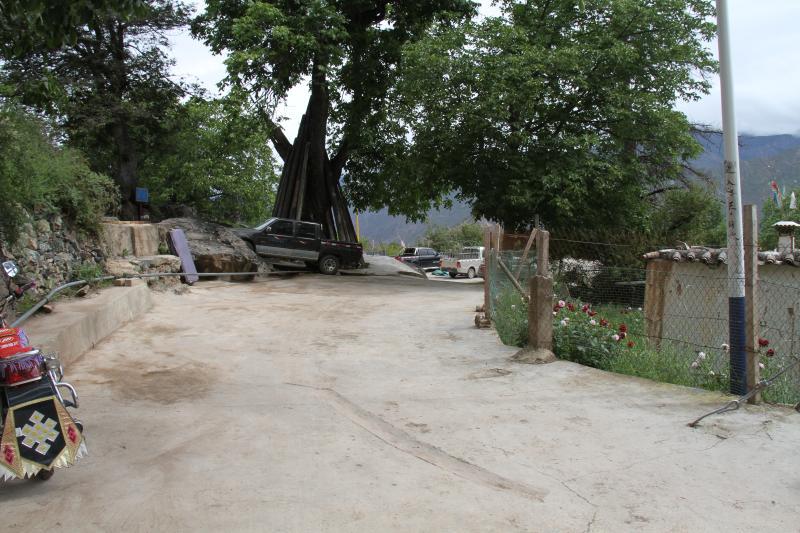 硬化路覆盖了德钦县的村村寨寨