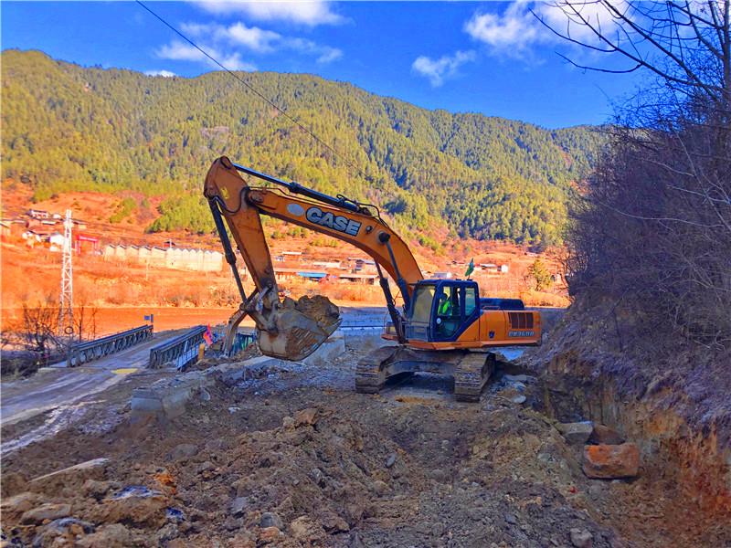 拉多阁水库建设工程有序复工
