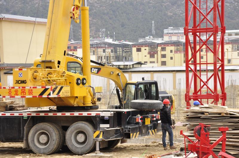 独克宗古城提质扩容建设项目将全面复工
