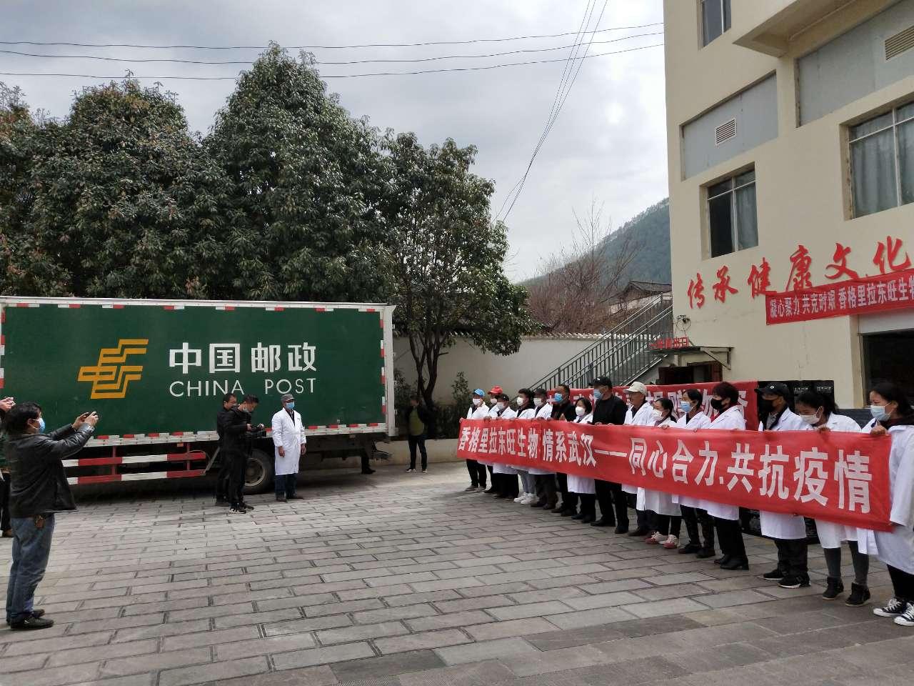 迪庆邮政分公司积极发运防疫物资