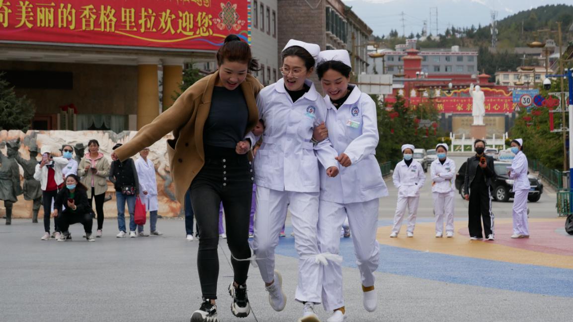 迪庆州人民医院开展护士节庆祝活动