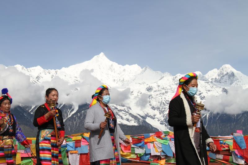 德钦县举办第六届梅里雪山神山祭祀活动