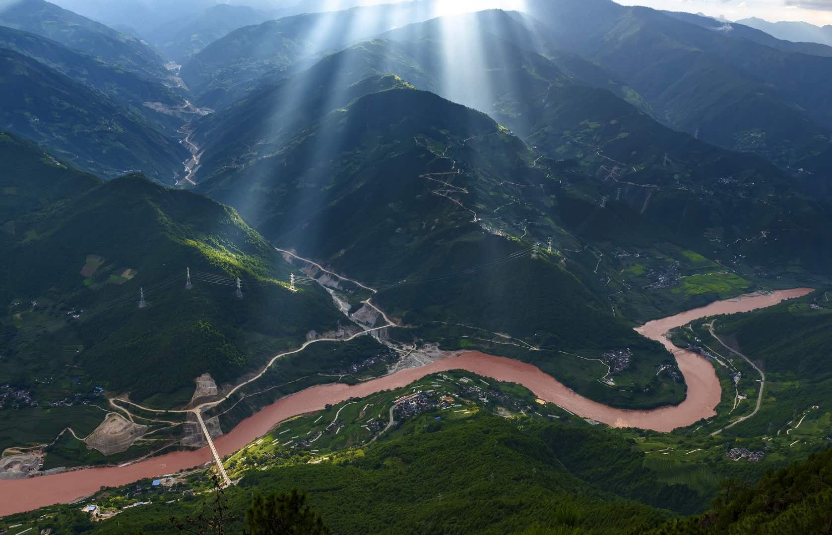 落吉古——澜沧江畔的一颗绿宝石