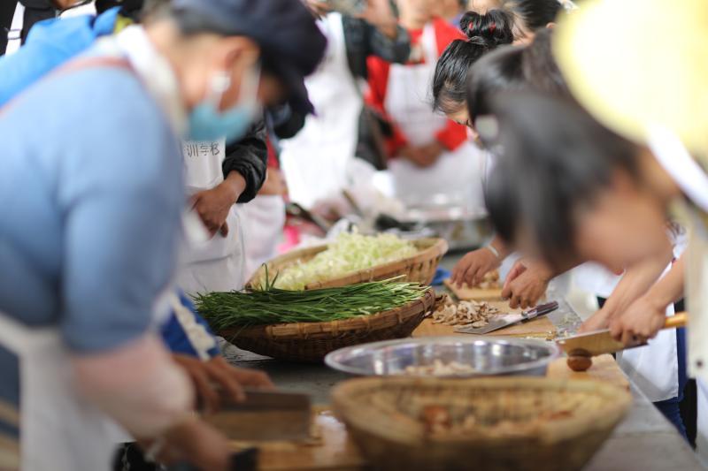 中路乡村民学好厨艺品出生活好味道