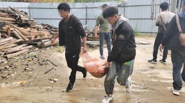 维西县依法查处一起违法销售猪肉案件
