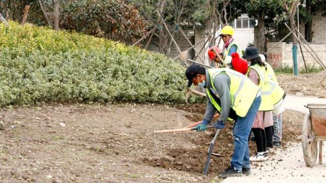 香巴拉公园第三期工程项目建设如火如荼开展中