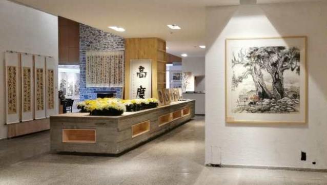 《大香格里拉记忆书画作品展》在香格里拉高度艺术空间开展