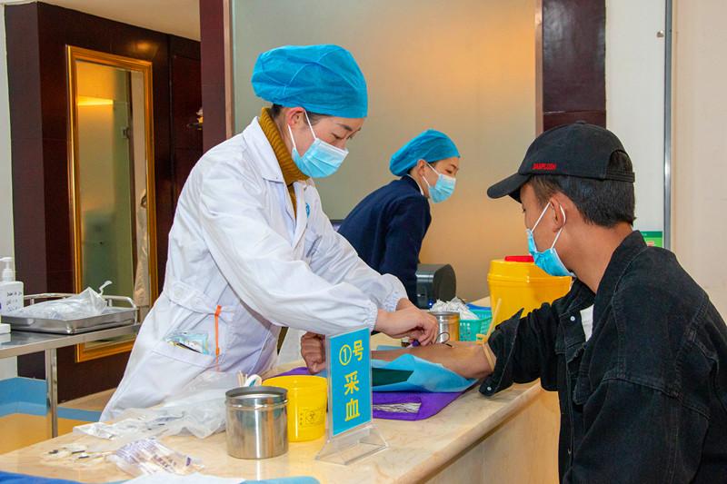 迪庆州开展2020年消防员招录体检和心理测试