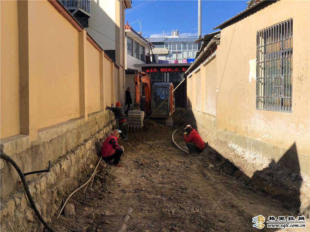 香格里拉市棚户区改造项目有序推进