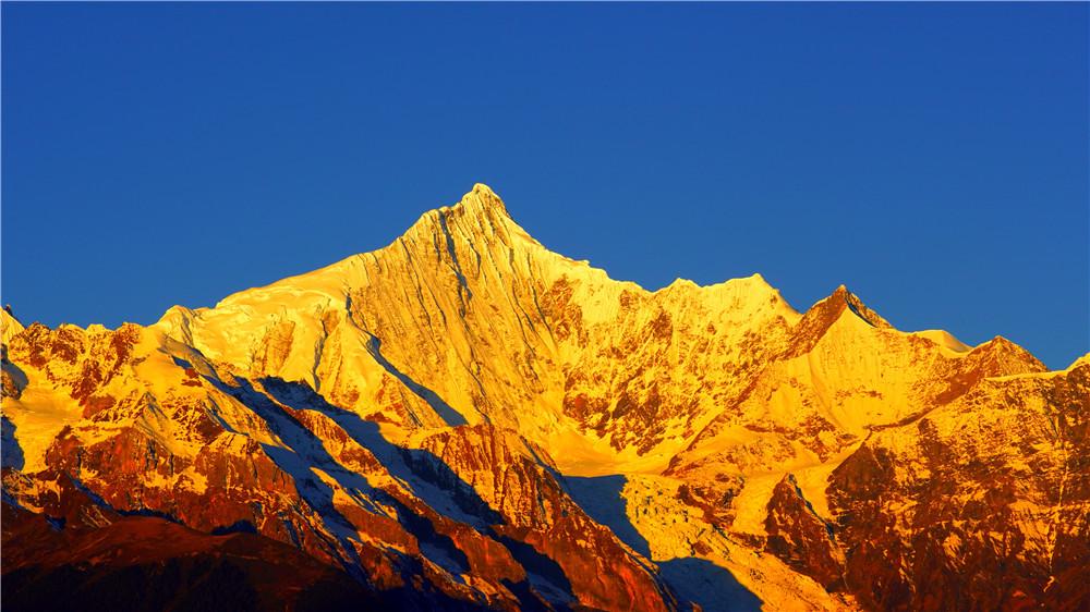 梅里雪山进入最佳观赏期