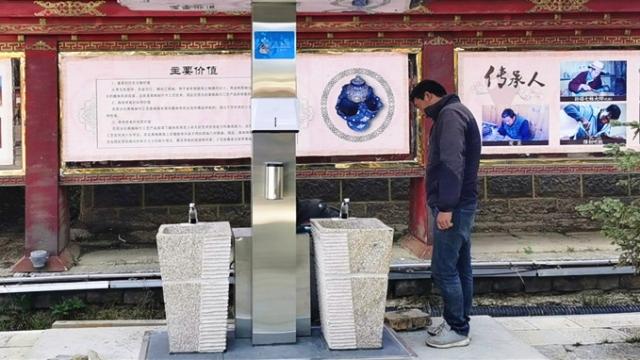 香格里拉市:洗手设施全配套