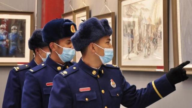 云南省抗疫美术、摄影作品展巡展到迪庆