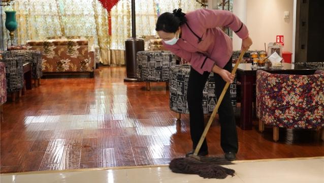 【爱国卫生运动】天界神川大酒店进一步做好保洁消毒工作