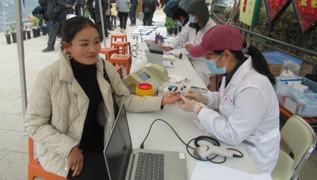 维西县城市民刘庆花无偿献血献爱心