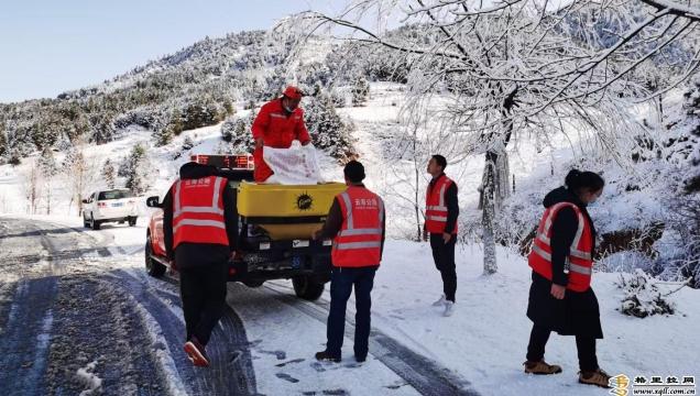 维西公路分局对易结冰路段进行重点排查