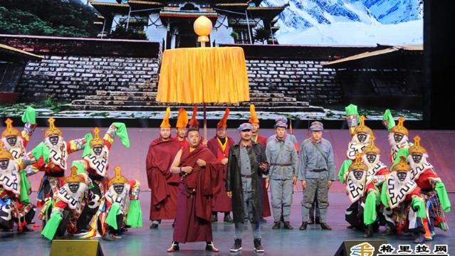 我州大型民族歌舞史诗《兴盛番族》首次联排