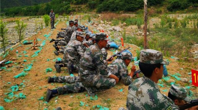 维西县2021年基干民兵集训结业
