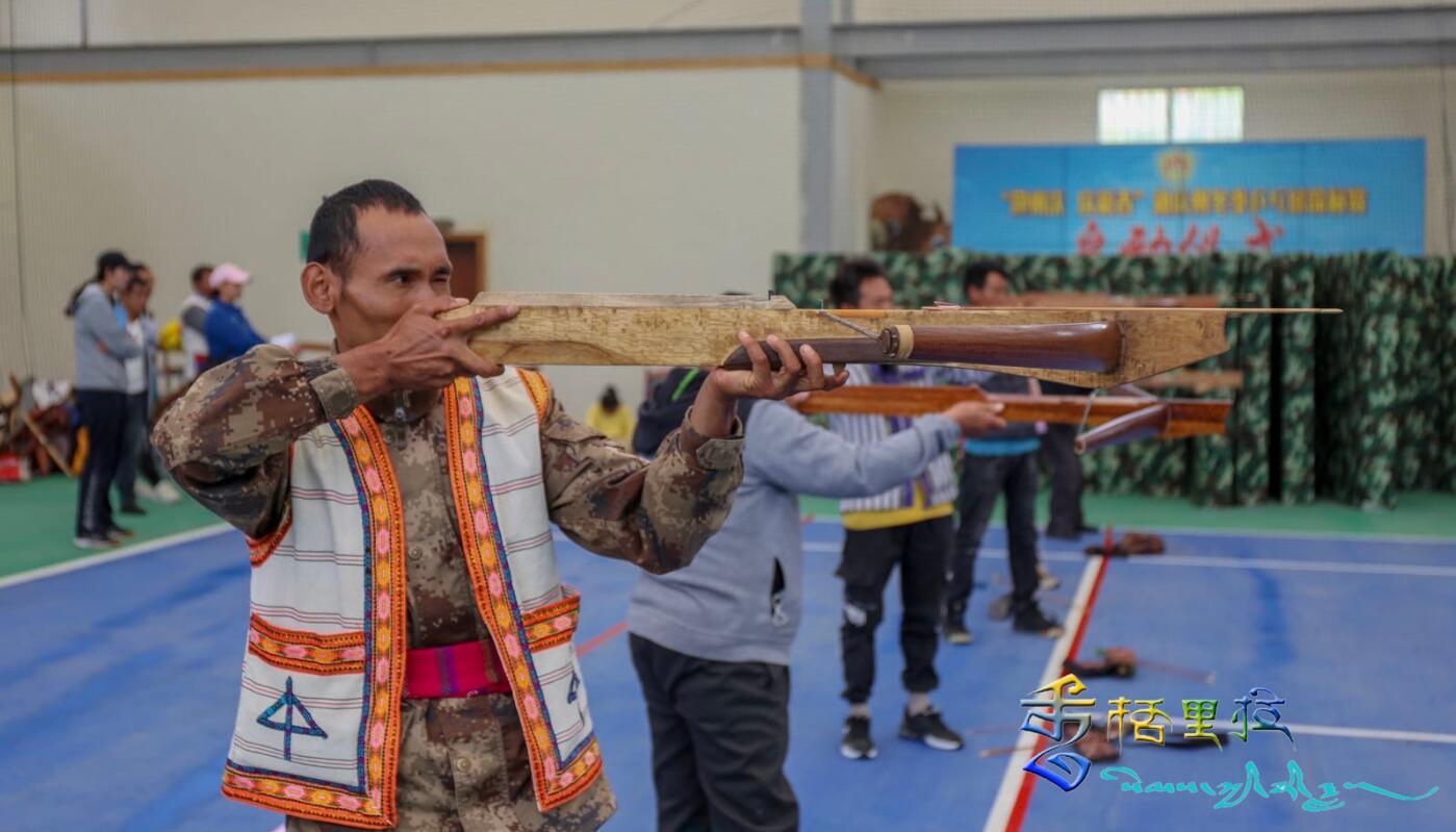 迪庆州2021年云南省少数民族传统体育锦标赛射弩选拔赛开赛