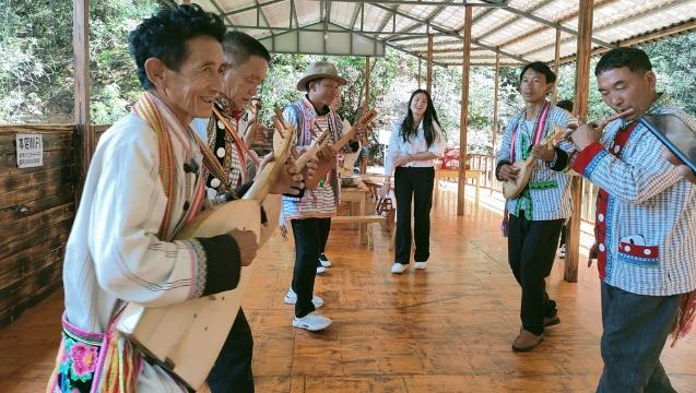 傈僳族传统文化培训