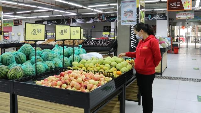 香格里拉市城区农贸市场换新颜