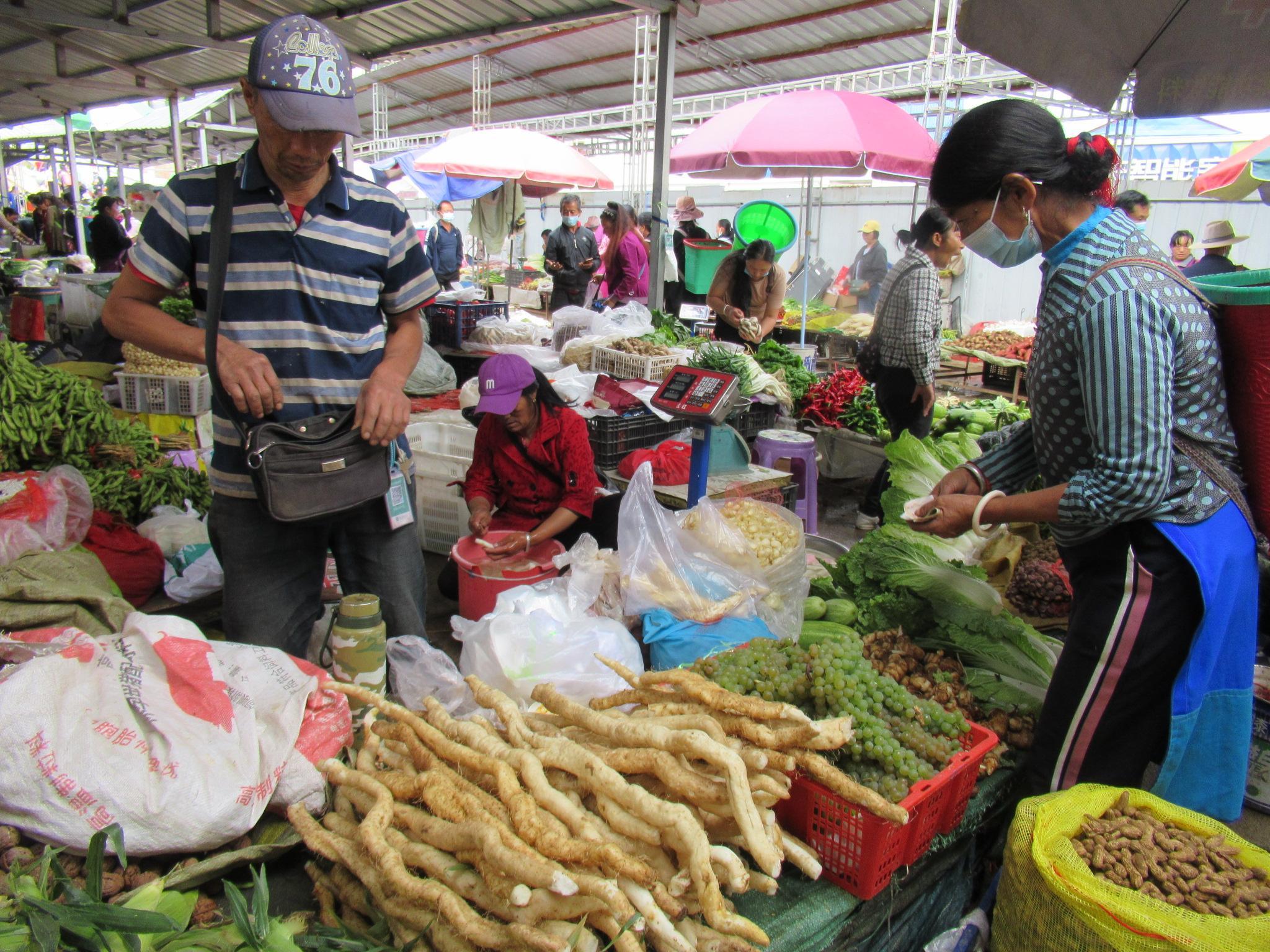 维西农副产品受欢迎