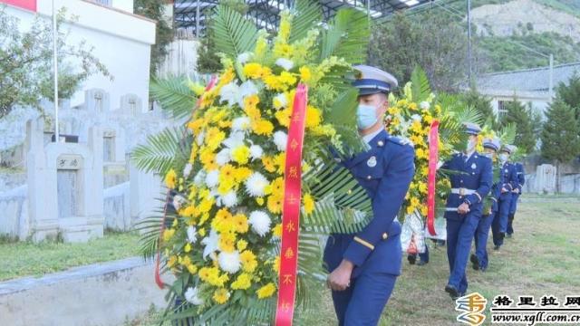 德钦县举行烈士纪念日公祭烈士活动