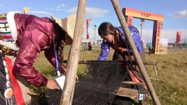 玛曲传承保护草原文化 建立非遗名录13类43项